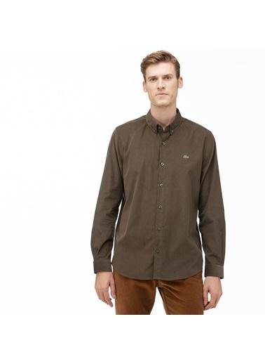 Lacoste Erkek Regular Fit Ekose Desenli Gömlek CH2004.04H Yeşil